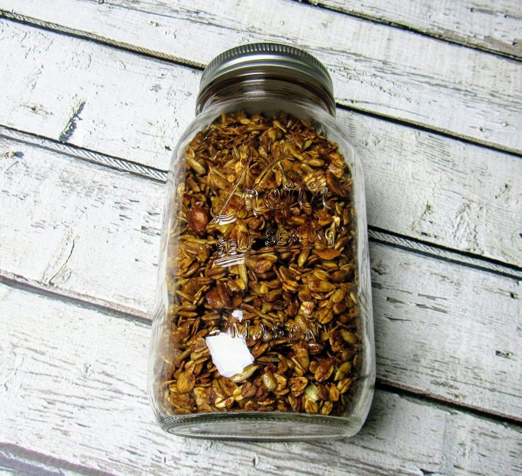 honey thyme granola