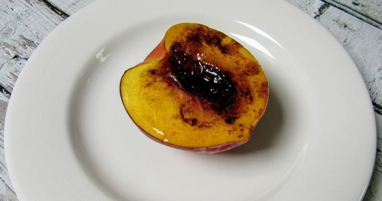 Easy Baked Peaches