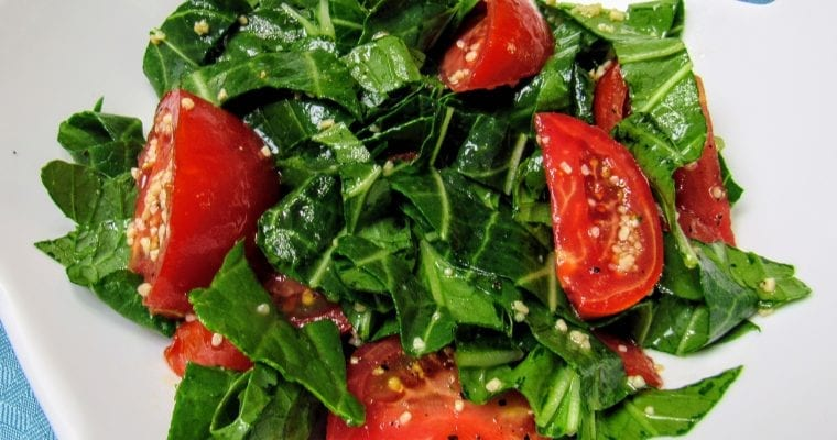 Fresh Bok Choy Salad