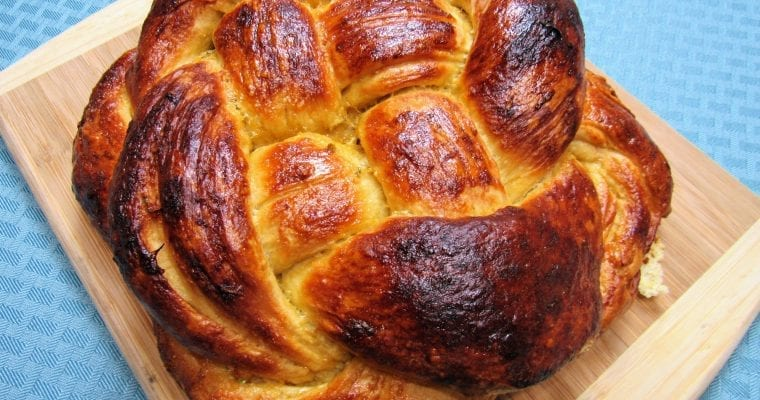 Honey Glazed Challah