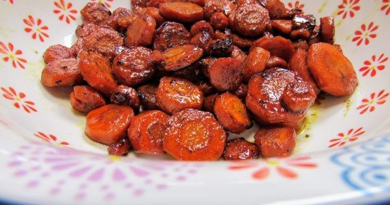 Savory Honey Glazed Carrots