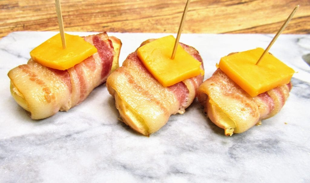 bacon wrapped apples