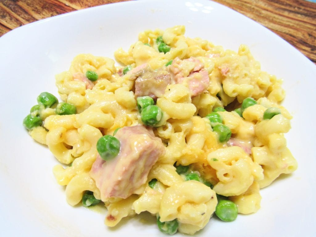full-meal macaroni and cheese