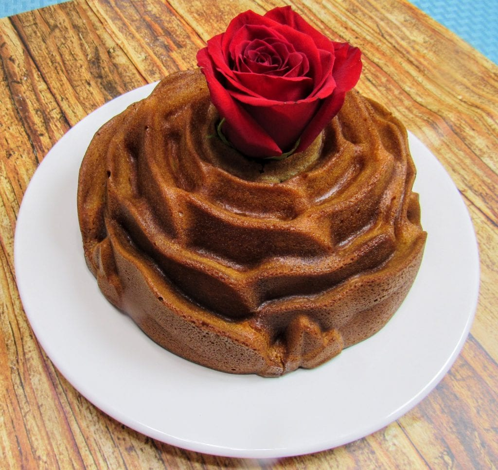 fragrant rose cake