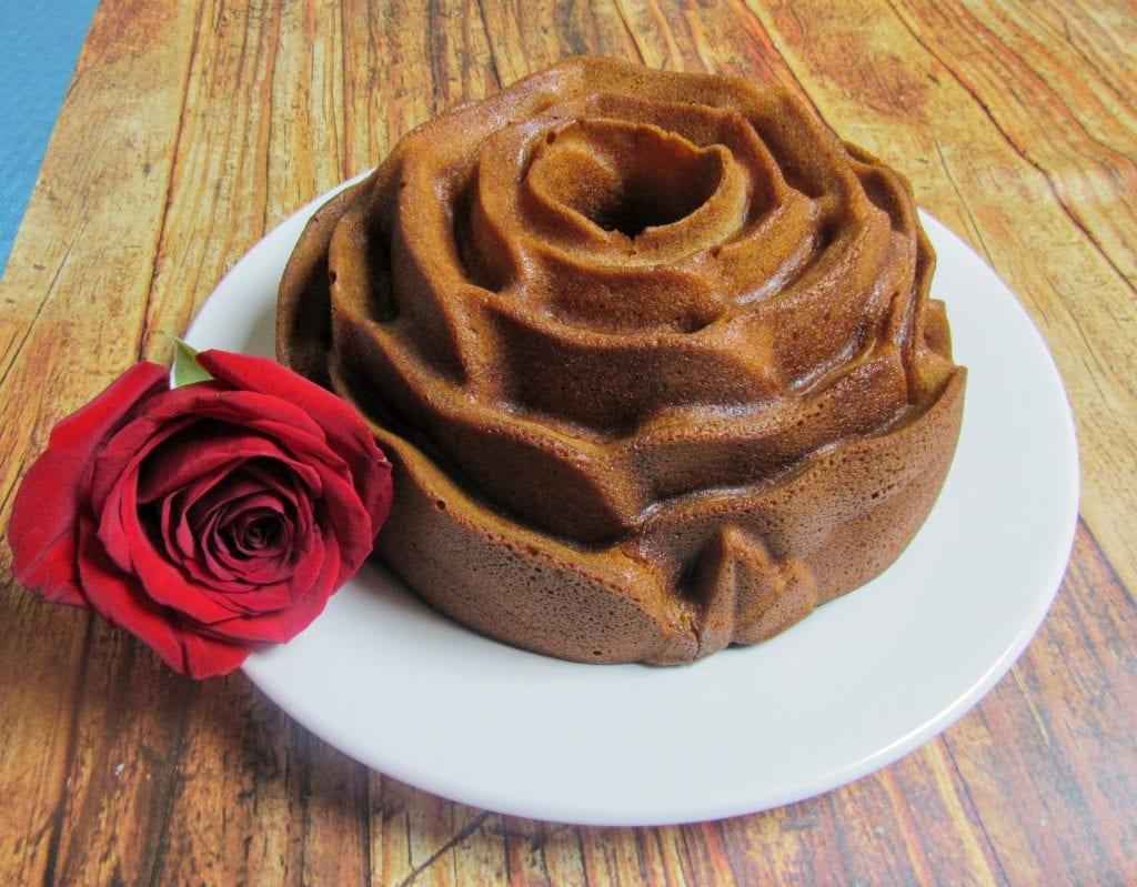 fragrant rose cake