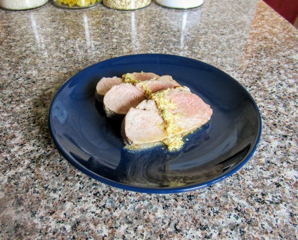 lemon-thyme braised pork