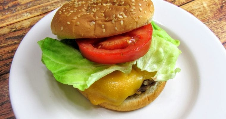 Classic Cheeseburgers